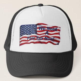 we need a fair tax hat