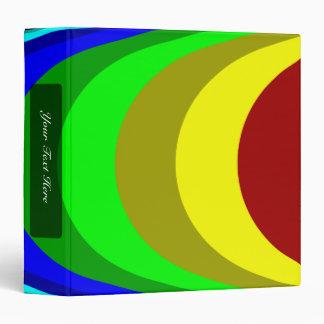 We need a rainbow binder