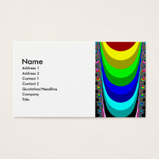 We need a rainbow business card