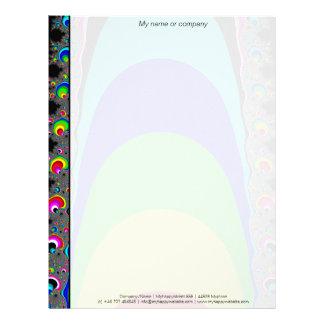 We need a rainbow letterhead