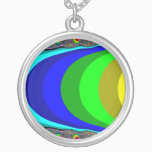 We need a rainbow silver plated necklace
