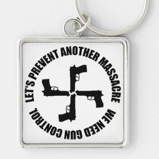 We Need Gun Control Keychain
