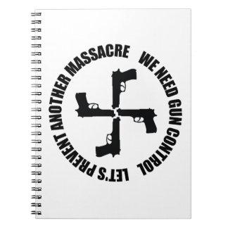 We Need Gun Control Notebook