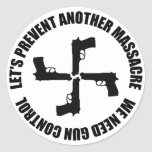 We Need Gun Control Stickers