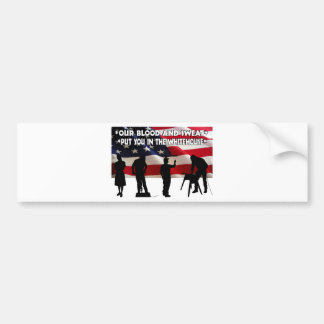 We Need Jobs Bumper Sticker