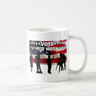 We Need Jobs Classic White Coffee Mug