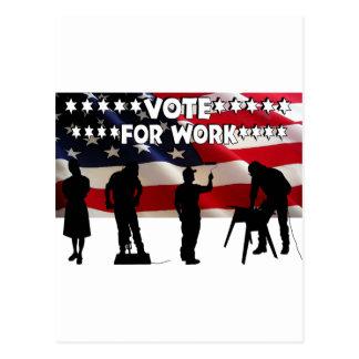 We Need Jobs Postcard