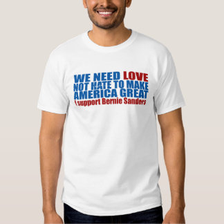 WE NEED LOVE T-SHIRT