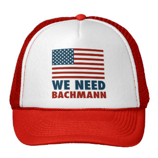 We Need Michele Bachmann Mesh Hats