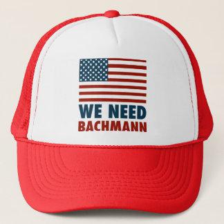 We Need Michele Bachmann Trucker Hat