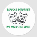 we need the cure classic round sticker