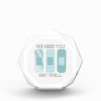 We Need You Get Well Awards