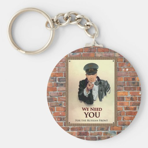We Need You WW2 German Poster Keychains
