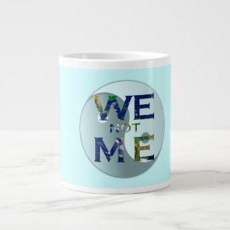 We Not Me Yin Yang Mug 20 Oz Large Ceramic Coffee Mug