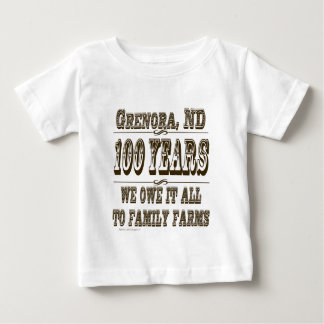 we owe it to family farms.jpg baby T-Shirt