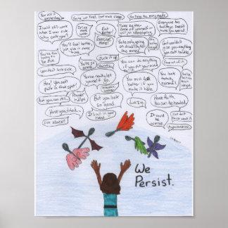 We Persist Poster