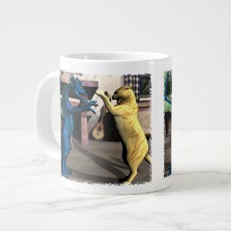 We Play? Jumbo Mug 20 Oz Large Ceramic Coffee Mug