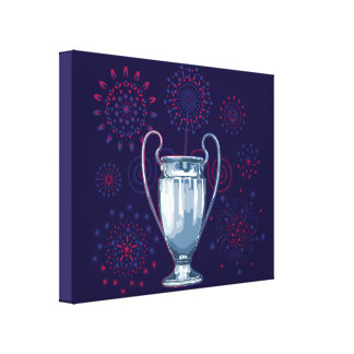 we plows the champions canvas print