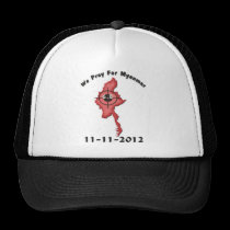 We Pray For Myanmar 11-11-2012 Mesh Hat