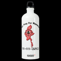 We Pray For Myanmar 11-11-2012 SIGG Traveler 1.0L Water Bottle