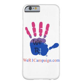 We R1 Bisexual Hand Phone Case