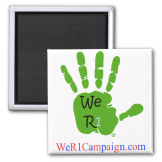 We R1 Green Hand Magnet