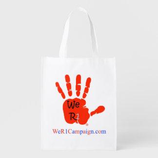 We R1, Reusable Shopping Bag Grocery Bags