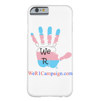 We R1 Transgender Hand Phone Case