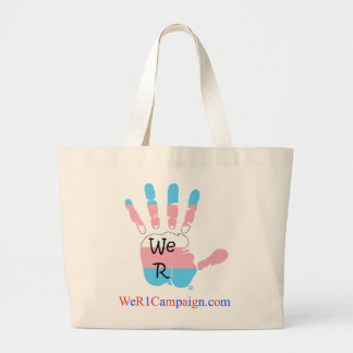 We R1 (Transgender Hand) Tote Bag
