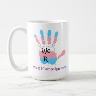 We R1 Transgender Mug