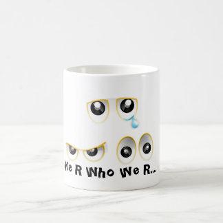 "We R WHo We R  ""Autism Speak"" Coffee Mug"