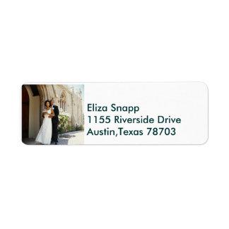 We re Getting Married Return Address Label