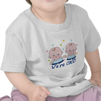 We re One Boys Birthday T-shirt
