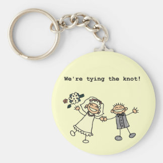 We re Tying the Knot Key Chain