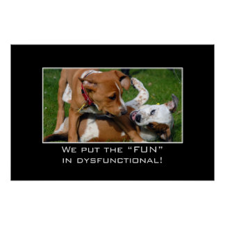We really put the fun in dysfunctional [XL] Poster