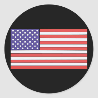 We Recognize No Sovereign but God, and no King but Classic Round Sticker