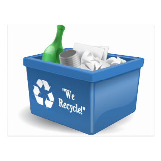 We Recycle Postcard