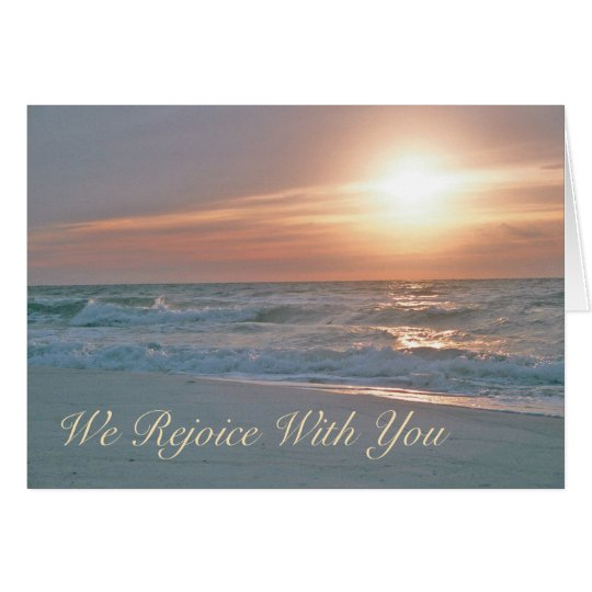We Rejoice with You Card (revised)