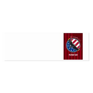 We Remember 911 Patriot Day Retro Poster Business Card Templates