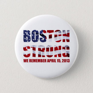 We Remember Boston Button