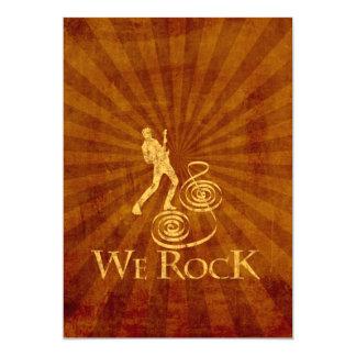 We Rock Invitaciones Personales