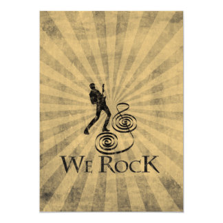 We Rock Comunicado Personalizado