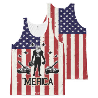 We Rooted For 'Merica DELUXE All-Over-Print Tank Top