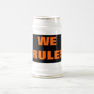 WE RULE! BEER STEIN