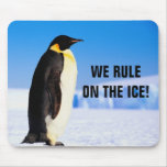 WE RULE ON THE ICE! MOUSE PAD