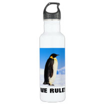 WE RULE! STAINLESS STEEL WATER BOTTLE