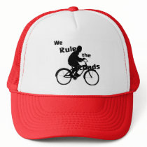 We Rule the Roads Bike Rider Trucker Hat
