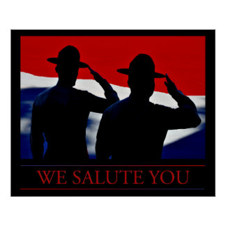 We Salute You Poster