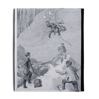 'We Saw a Toe - It Seemed to Belong to Moore - We iPad Folio Cases