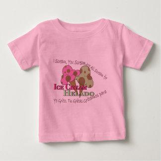 We Scream for Ice Cream! - Baby T-Shirt (Pink)